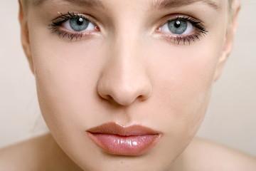 Beauty shot of woman's eyes
