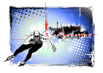 speed skating frame