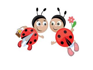 Ladybugs,CMYK