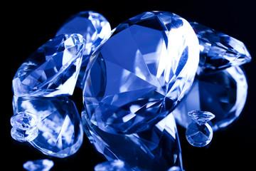 Diamond - a hard, precious, expensive stone