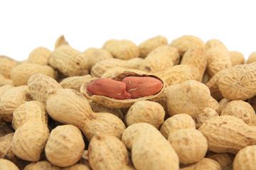 Peanut Shell Pile