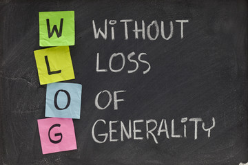 without loss of generality