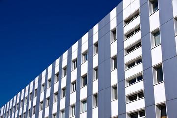 Modern silver building