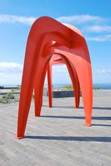 Skulptur in Calheta, Madeira