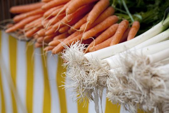 carottes et poireaux cuisine traditionnelle