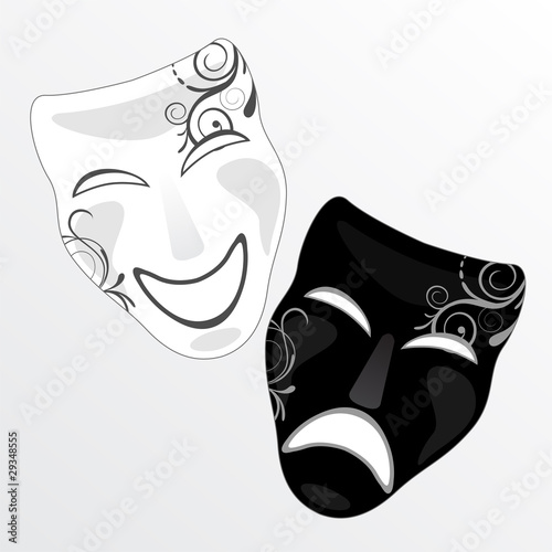 Elegante Faschingsmasken Stock Image And Royalty Free Vector Files