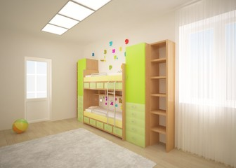 green children interior