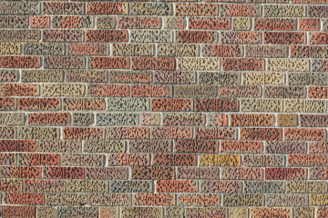 Orange BrickWall Texture / Background