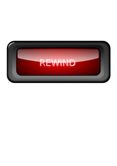 Rewind Button Red
