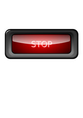 Stop Button Red