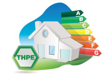 maison à tres haute performance energetique - THPE