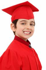 Proud Kindergarten Graduate Child