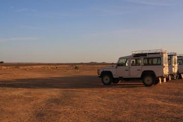 サハラ砂漠と4WD
