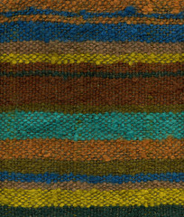 Close up detail of woven mohair fabric in variegate colors