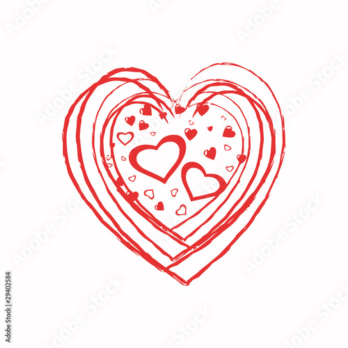 Coeur Rouge Dessin Stock Image And Royalty Free Vector Files On