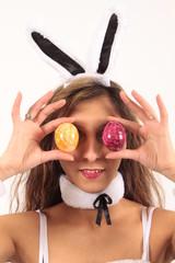 Eine Eierbrille