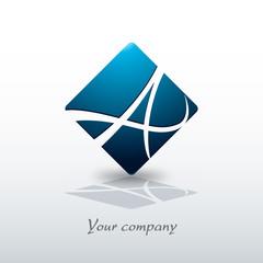 logo entreprise,lettre a
