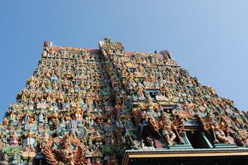 Meenakshi Temple, West Gate