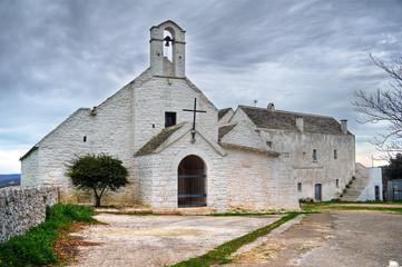 St. Maria di Barsento Church. Noci. Apulia.