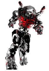 monster robot running