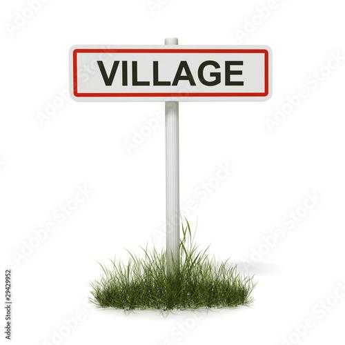 panneau entr e de village photo libre de droits sur la banque d 39 images image. Black Bedroom Furniture Sets. Home Design Ideas