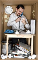Man in the box -Small Office.