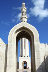 Al Qubrah Mosque in Muscat Oman