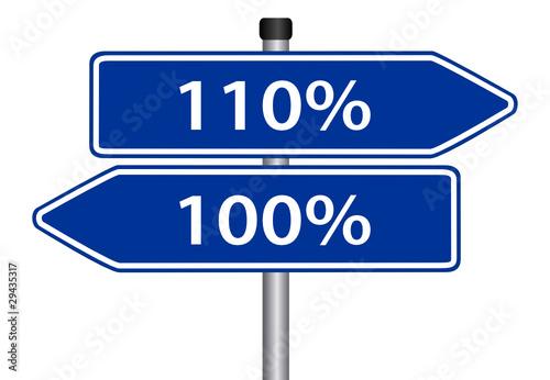 100 oder 110 prozent geben stockfotos und lizenzfreie. Black Bedroom Furniture Sets. Home Design Ideas