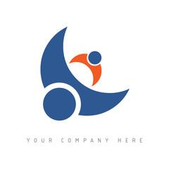 logo picto web marketing pub commerce société design icône
