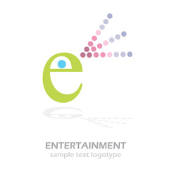 Logo E Entertainment # Vector