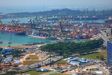 Tanjong Pagar Container Terminal,Singapore