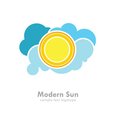 Logo Modern Weather # Vector