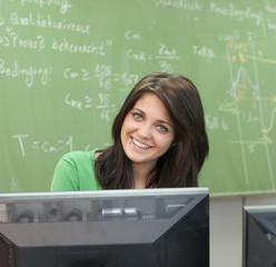 Ausbildung am Rechner im Klassenzimmer