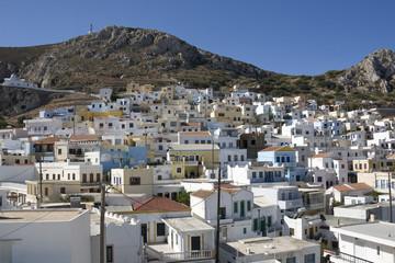 Menetes village, panoramic view - Karpathos, Dodecanese Islands