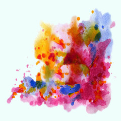 Abstract background, watercolor