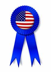 U.S.A. America American flag ribbon