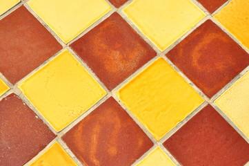 carrelage céramique provence coloré - fond et texture