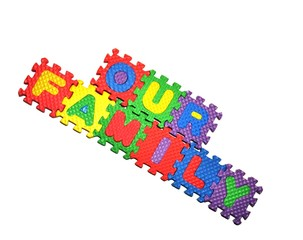 Our Family connected blocks