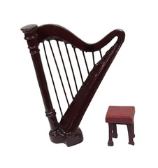 Harp and Bench