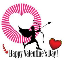 Cupid aiming