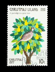 Christmas Island stamp First day of Christmas