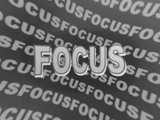 focus, in focus