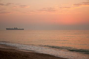 Colorful Sunrise at the Sea 2
