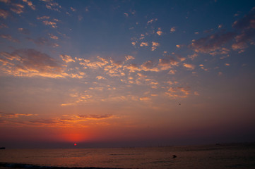 Colorful Sunrise at the Sea 1
