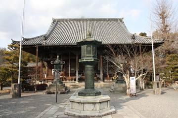 穴太寺の本堂