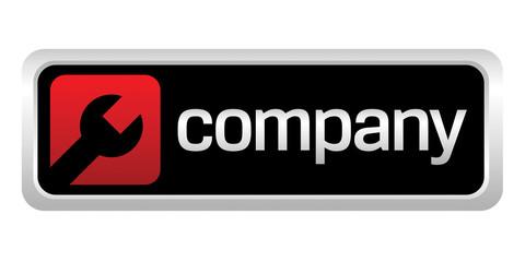 Auto repair shop company logo
