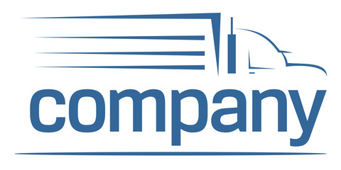 Heavy car transport logo