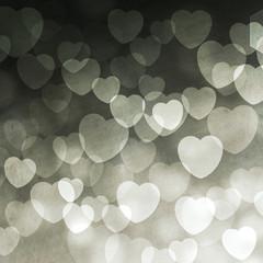 abstract illumination with hearts