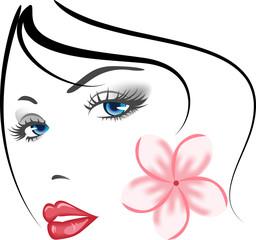 beauty face girl
