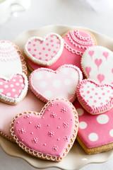 Wall Mural - Valentine cookies